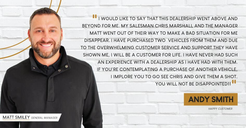 Customer Testimonial - Andy Smith