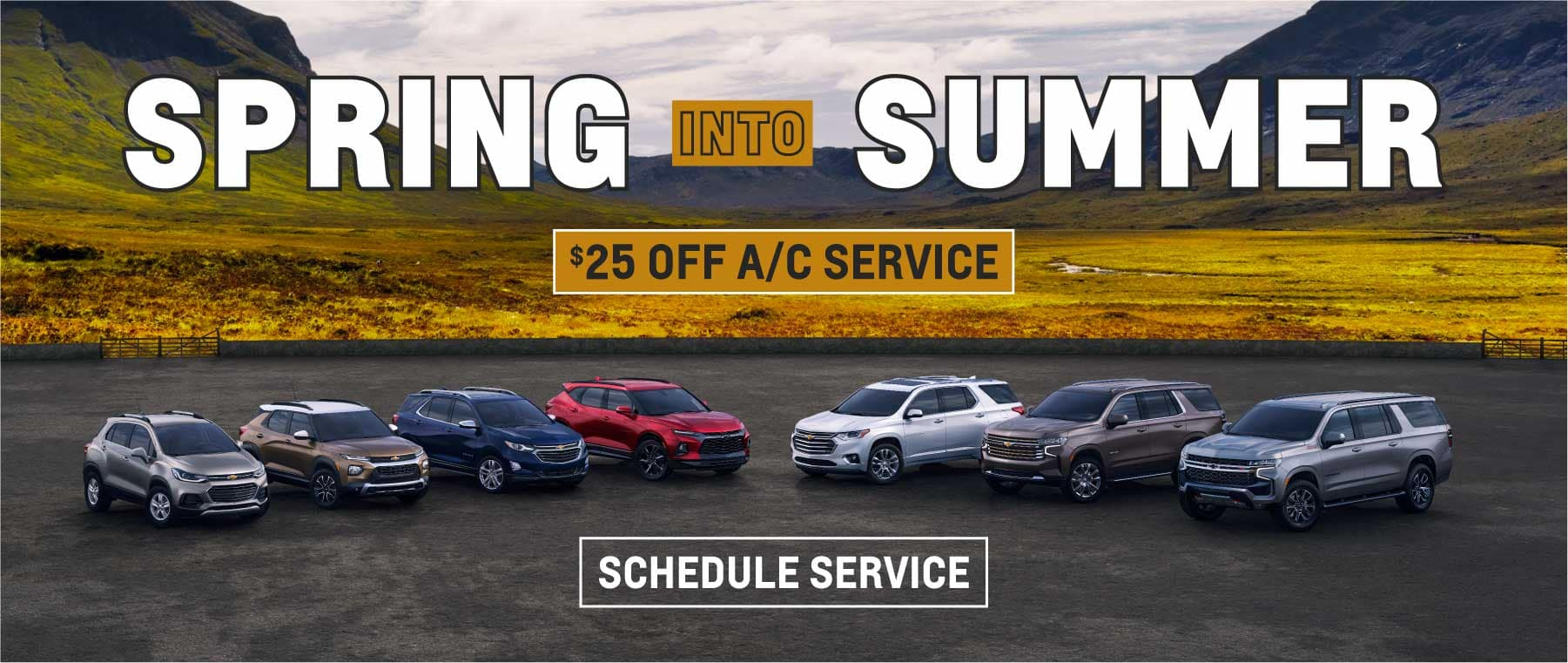 Spring into Summer, $25 off A/C Service