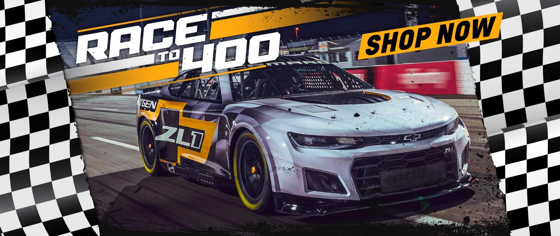 Race to 400, Shop now