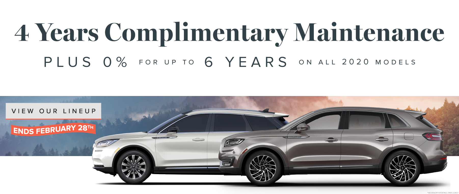 4 Years Complimentary Maintenance