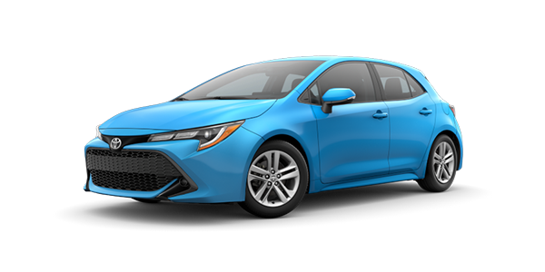 New 2021 Corolla Hatchback