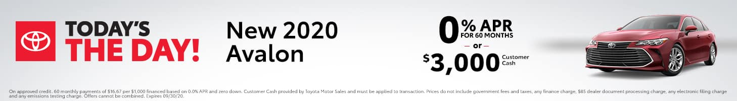 Today's The Day - 2020 Avalon