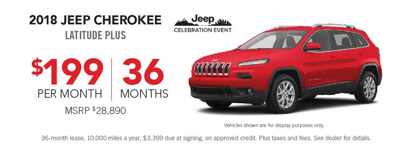 2019 jeep cherokee sale