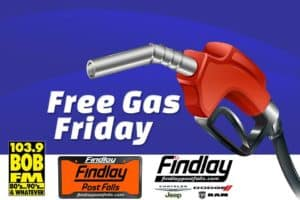 free gas friday