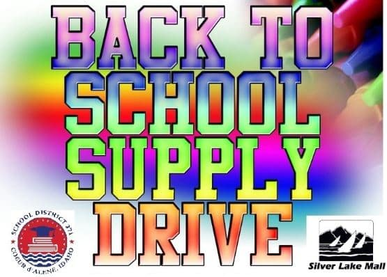 Family Guide Back to school supply drive