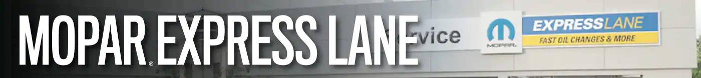 mopar express lane