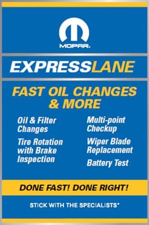 mopar express services