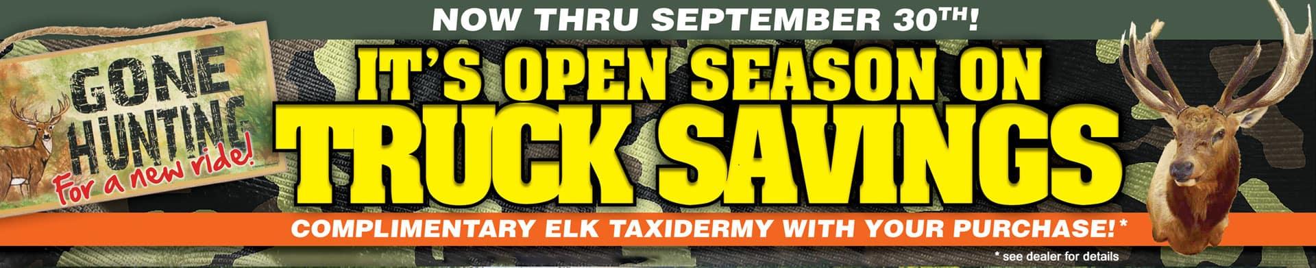 free elk taxidermy