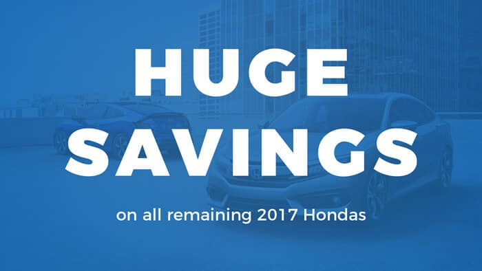 Model Year End Savings