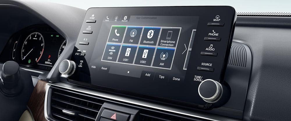 2018 Honda Accord 8in Touchscreen Display