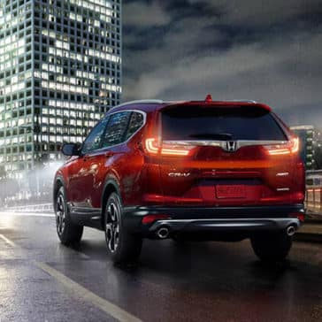 2018 Honda CR-V driving in city