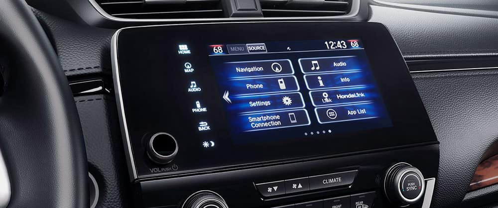 2018 Honda CR-V touchscreen display