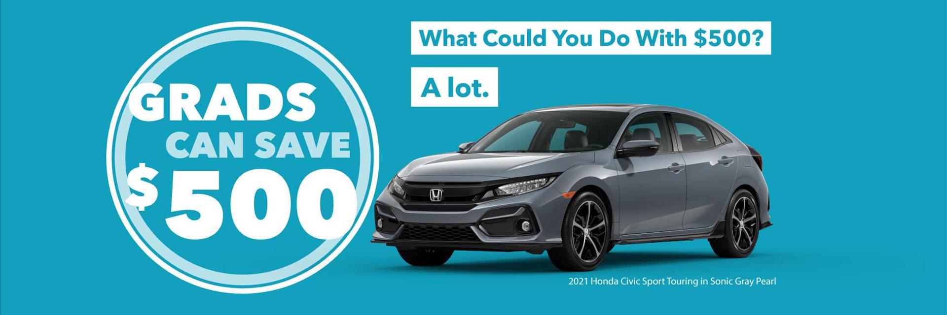$500 College Grad Offer Honda Dealer St. Louis