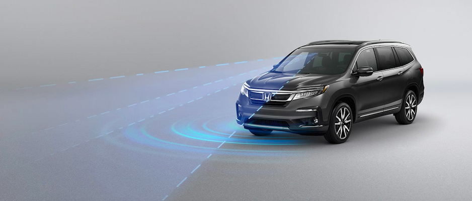 honda sensing safety features near st charles