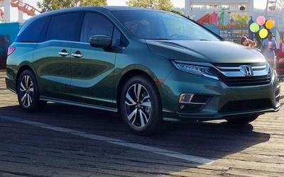 2019 Honda Odyssey trim levels
