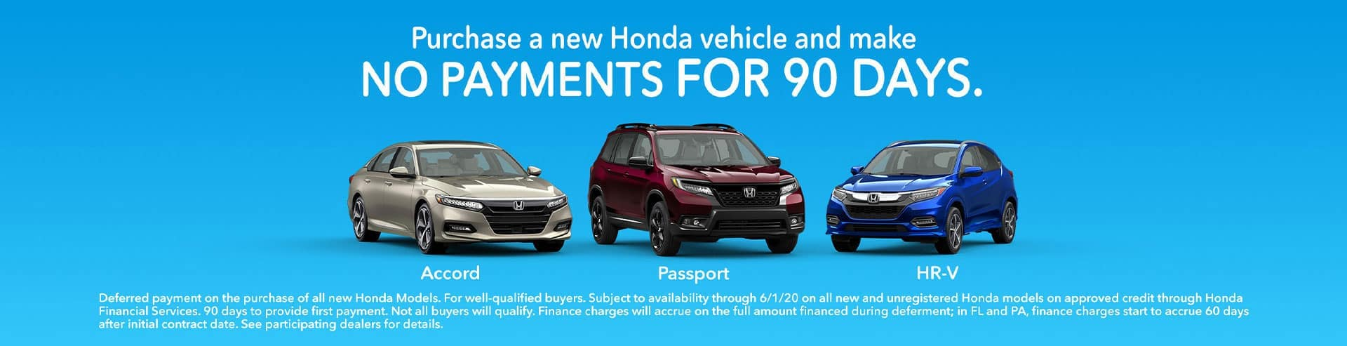 90 day no payment Honda dealer st Louis