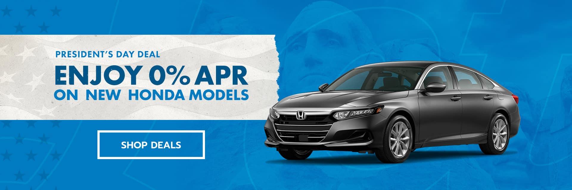 Honda dealer st louis Presidents' Day specials