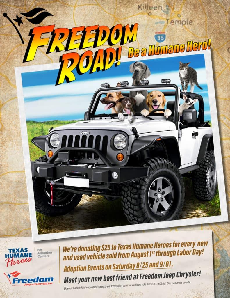 Freedom Jeep Humane Heroes