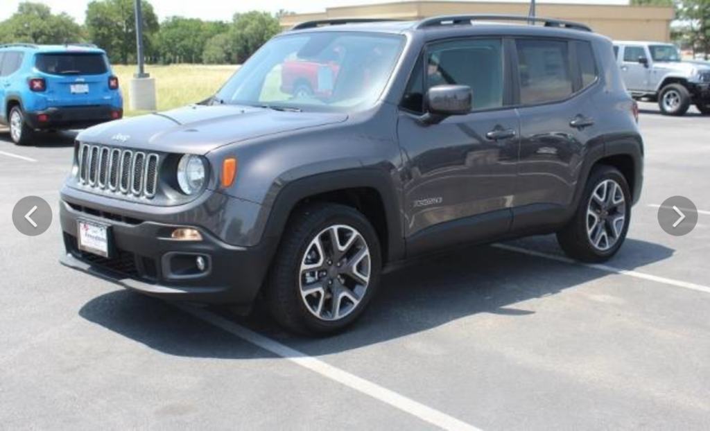 All 2018 Jeep Renegades
