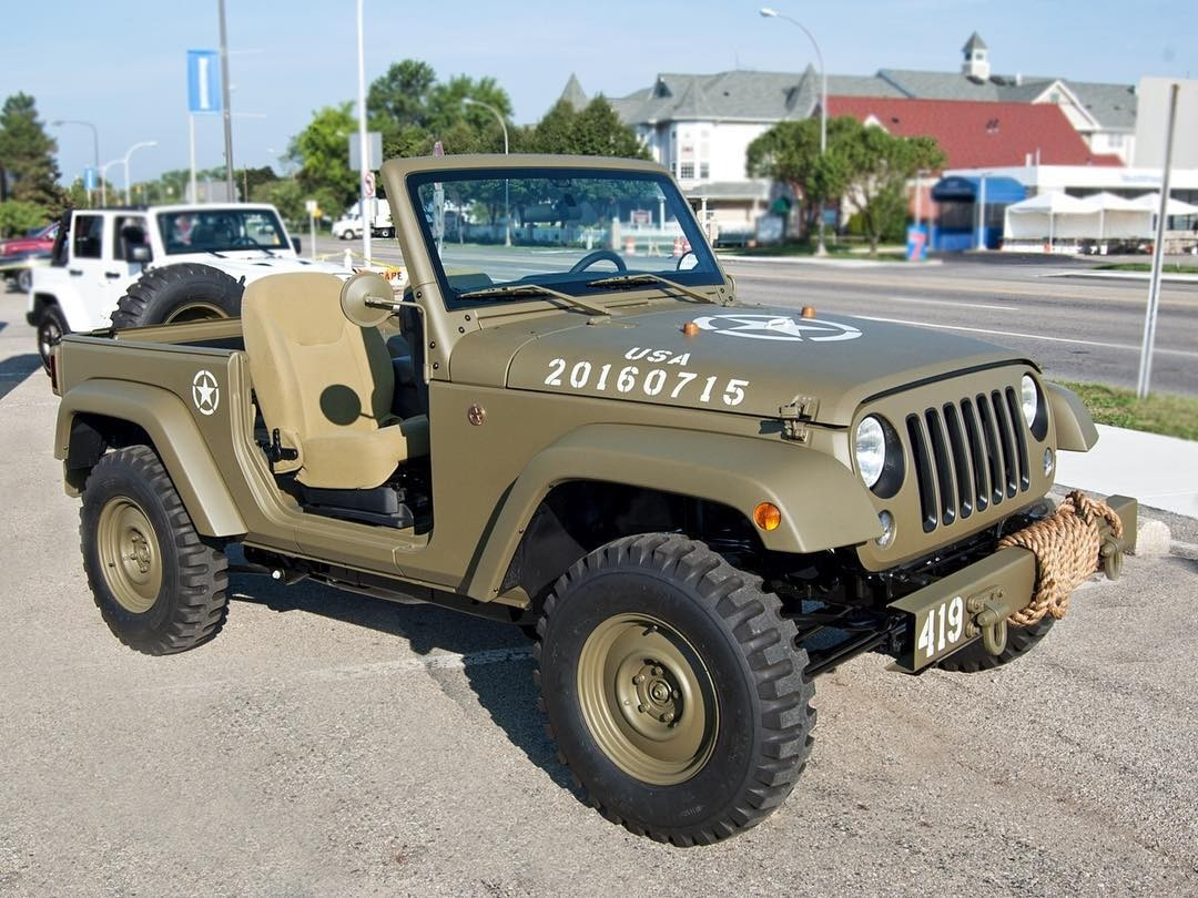 Jeep Brand Celebrates 75 Years With A Throwback Inspired