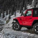2018 Jeep Wrangler Off Roading