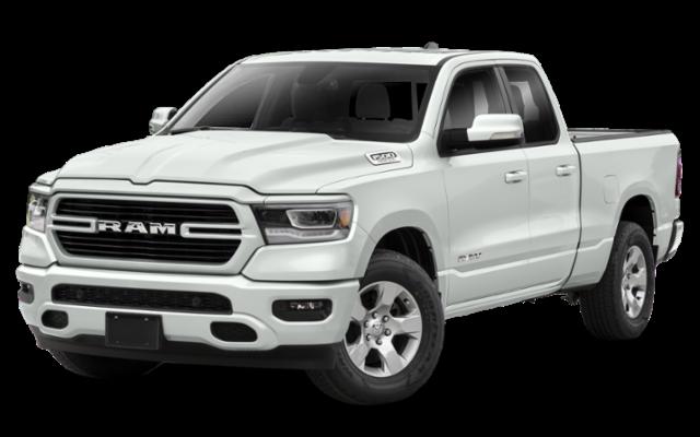 2019 RAM 1500 white