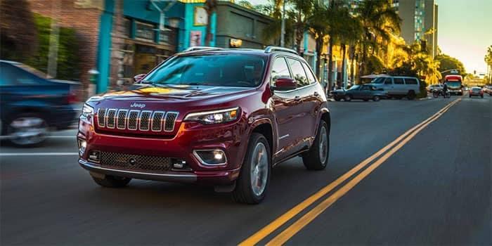 Jeep Cherokee Driving