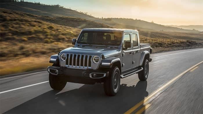 Jeep Gladiator Driving