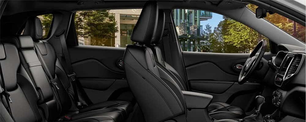 2020 Jeep Cherokee Interior Seating Side Profile View