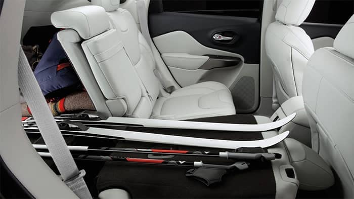 2020 Jeep Cherokee Rear Seat Configurations