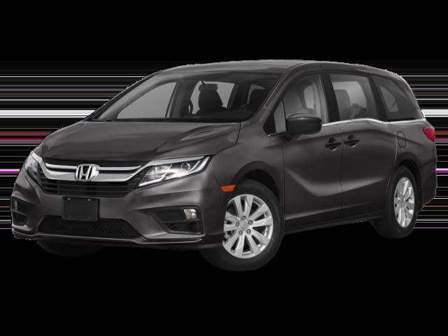 2019 Honda Odyssey grey