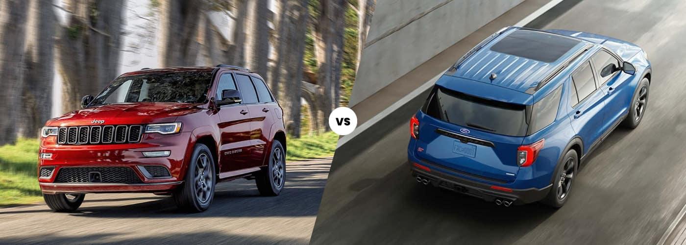 Grand Cherokee vs. Ford Explorer