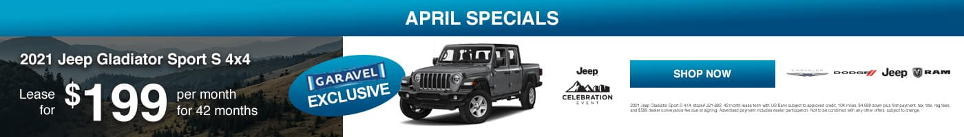 2021 Jeep Gladiator Sport S 4x4