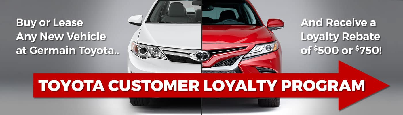 Toyota Customer Loyalty Program at Germain Toyota