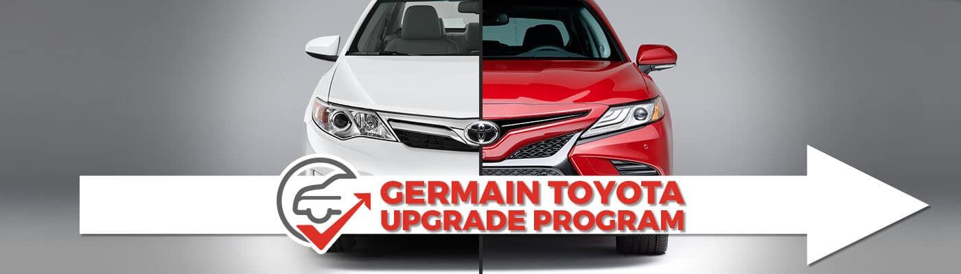 Upgrade your car at Germain Toyota for little or no more money per month.
