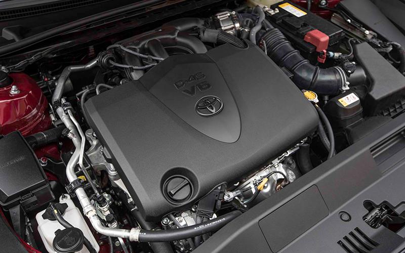 2018 Toyota Camry V6 Engine