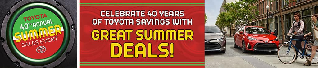 40th Annual Summer Sales Event