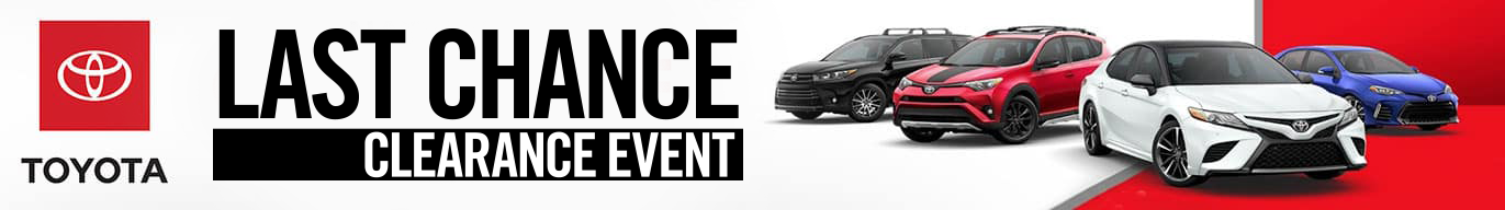Last Chance Clearance Event