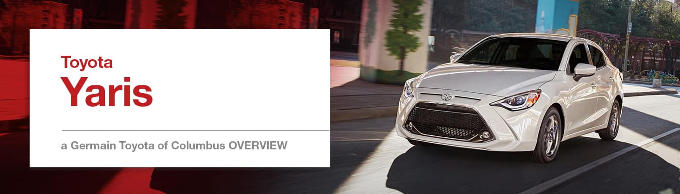 Toyota Yaris Model Overview at Germain Toyota of Columbus