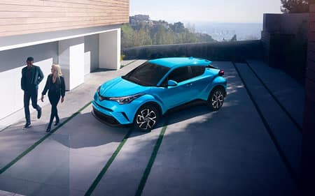 2019 Toyota C-HR XLE Blue Flame