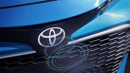 2020 Toyota Corolla Hatchback Radar Badge