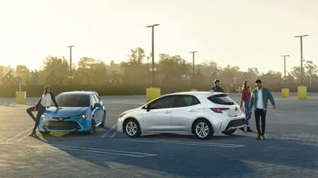 2019 Toyota Corolla Hatchback Styling