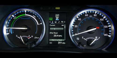 2019 Toyota Highlander Hybrid Efficiency