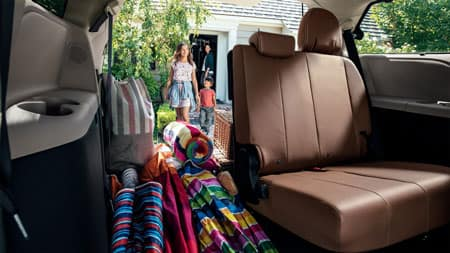 2019 Toyota Sienna Cargo Configuration