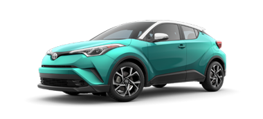 New Toyota C-HR at Germain Toyota of Columbus