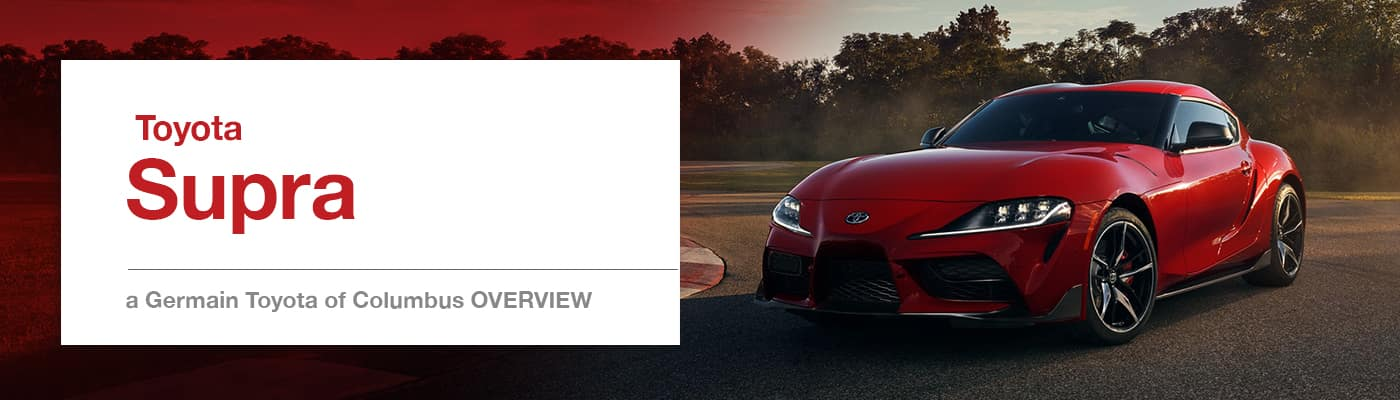 2020 Toyota Supra Model Overview at Germain Toyota of Columbus