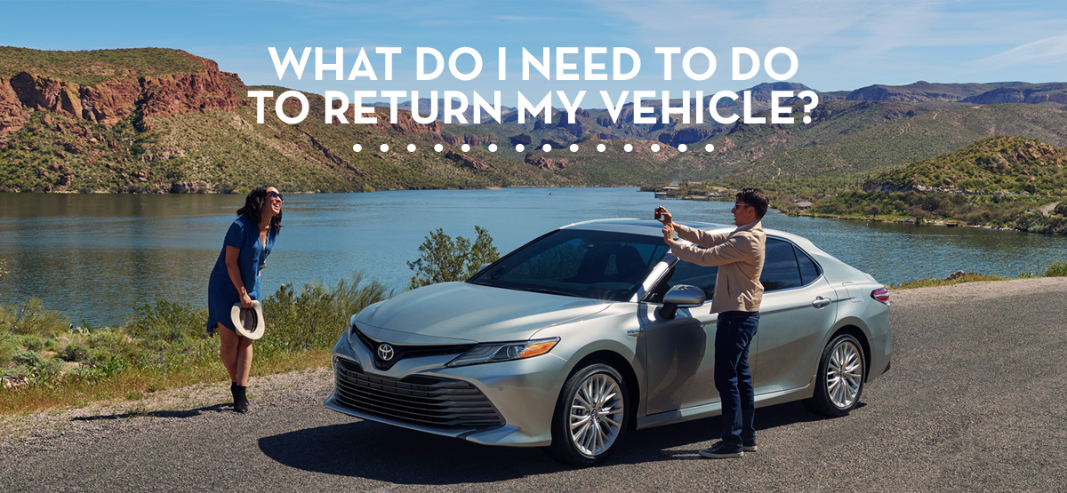 Toyota Lease Return