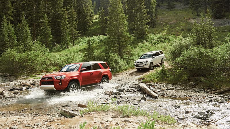 2019 Toyota 4Runner Off-Road Performance