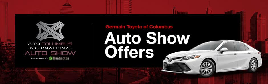 Germain Toyota of Columbus Auto Show Offers