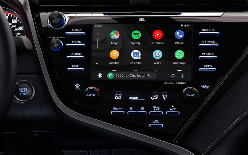 2020 Toyota Camry Android Auto Integration